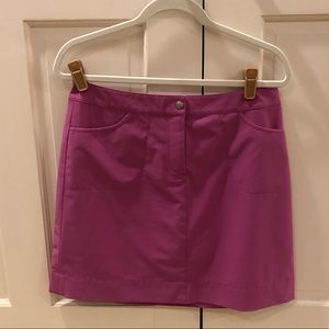 Cutter & Buck hot pink golf skirt size 6